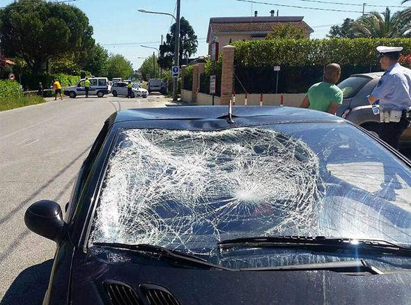 Nicky Hayden crash