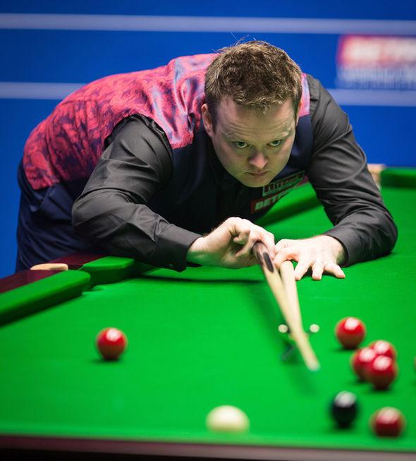 Snooker star Shaun Murphy