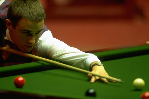 Stephen Hendry snooker player