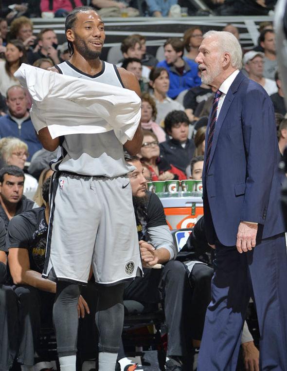The San Antonio Spurs are still hopeful of keeping Kawhi Leonard