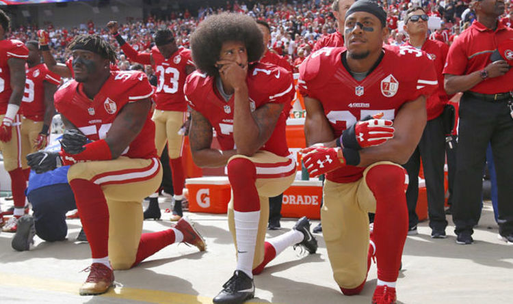 Today Kneeling Players Nfl Are