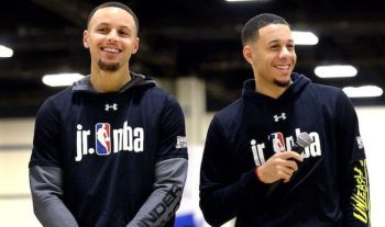 1838a7c1b50 Steph Curry drops Three Point Contest revelation about brother Seth at All  Star weekend