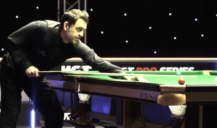 Ronnie O'Sullivan farts while potting black as WST Pro Series clash descends into farce