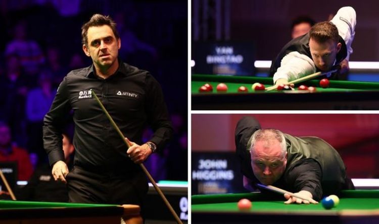 Tour Championship snooker 2021 LIVE results: Ronnie O'Sullivan leads John Higgins 5-3