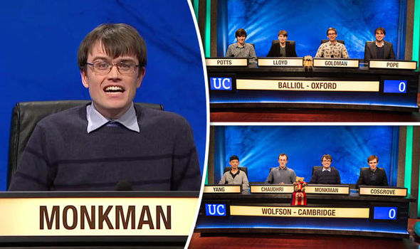 University Challenge Final Oxford V Cambridge Express Comment