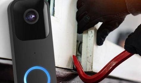 Burglars beware! Amazon's new £49 doorbell keeps watch 24 hours a day