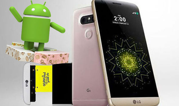 lg g5 android nougat update uk date