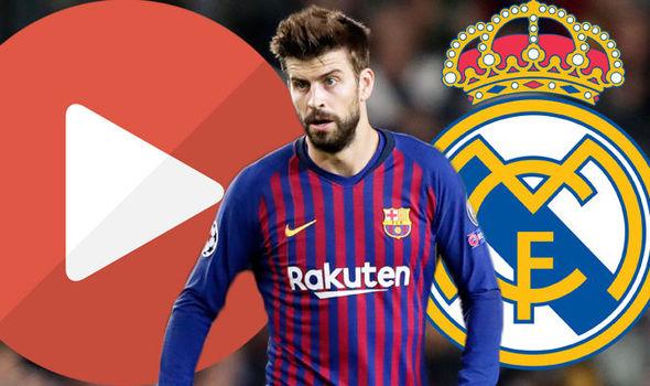 Image result for barcelona vs. real madrid live