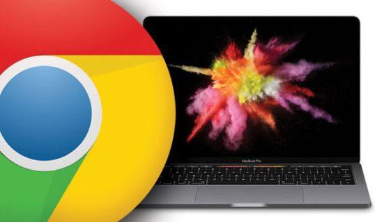 Google Chrome Apple MacBook