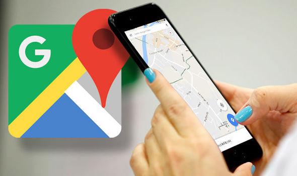 Image result for google maps navigation