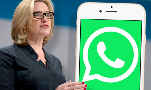"""Home Secretary Amber Rudd has said """"real people"""" aren't bothered about encryption"""