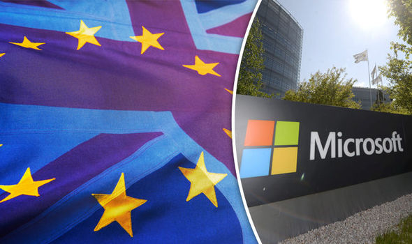 microsoft not leaving uk brexit news
