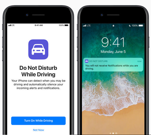 iOS 11 includes a new feature dubbed Do Not Disturb While Driving, designed to prevent distractions in the car