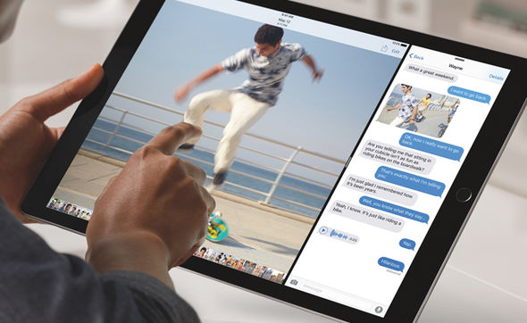 Apple iOS 11 split screen iPhone