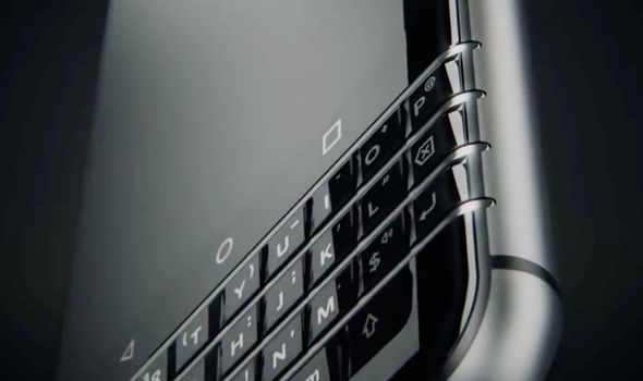 The BlackBerry Mercury sports a slick new industrial design