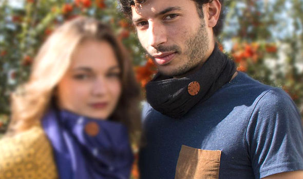 wair smart scarf air pollution CES 2017