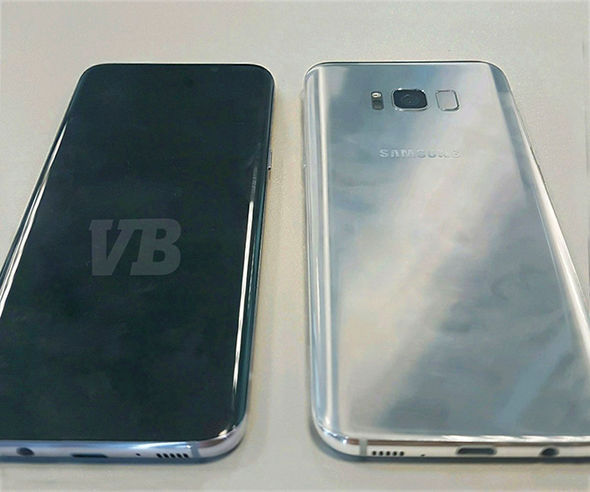 Renown leaker Evan Blass has published a photograph of the Samsung Galaxy S8