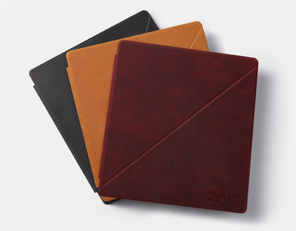 Like its predecessor, the new Kindle Oasis has a number of leather cases