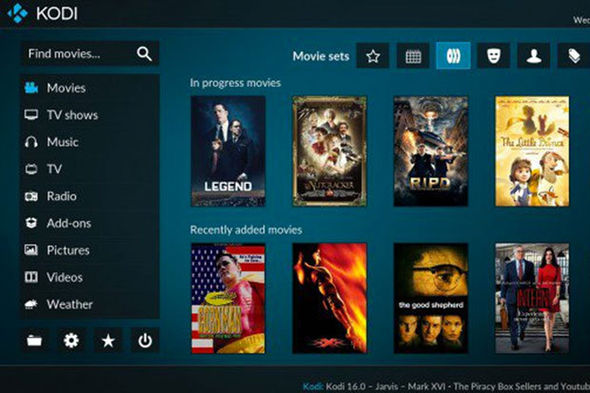 Kodi box block
