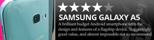 Samsung A5 review