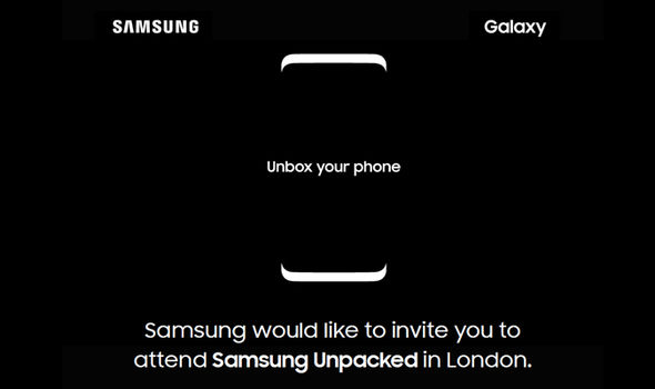 Samsung will hold a media event in London to announce the Samsung Galaxy S8