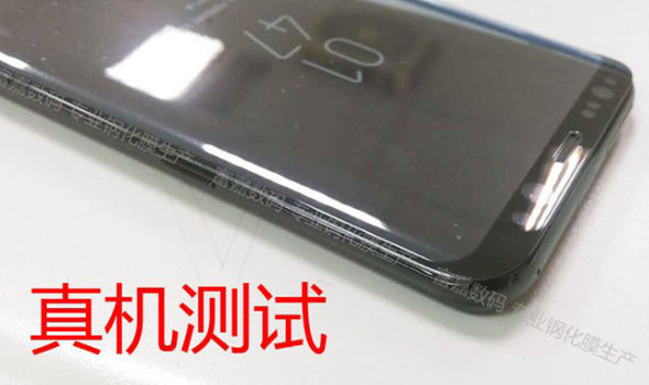 The latest batch of leaked images show the same Always-On display as the Galaxy Note 7
