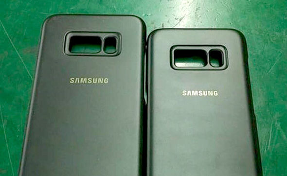 Leaked cases appear to confirm the slightly baffling design choice