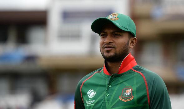 Shakib Al Hasan of Bangladesh