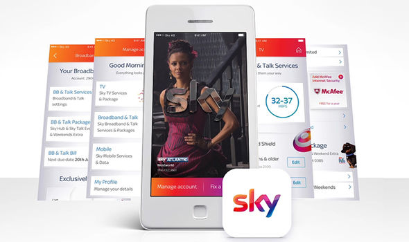 The Sky Q app will reward long-term customers for their loyalty