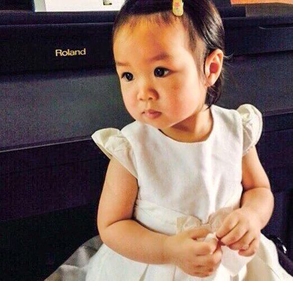 Matheryn Naovaratpong was just two years and two months old when doctors discovered the tumour