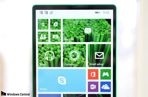 Windows Central has got its hands on an unannounced Microsoft handset with all-screen design
