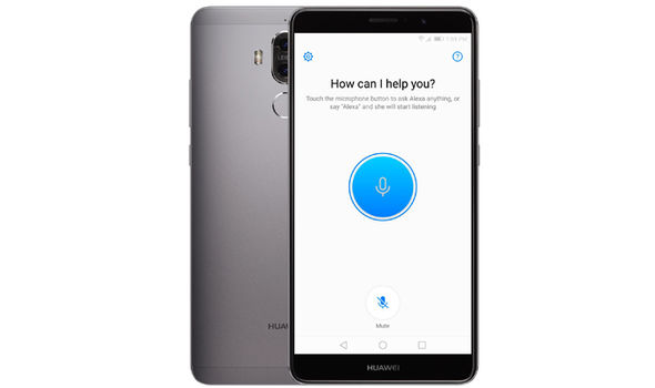 amazon echo alexa app huawei mate 9