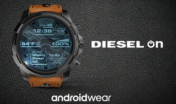 diesel on android wear 2.0 smartwatch
