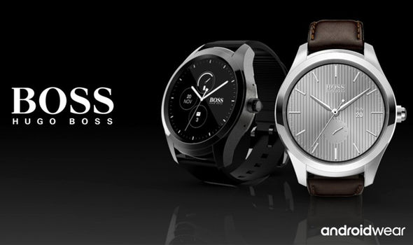hugo boss touch android wear 2.0 smartwatc