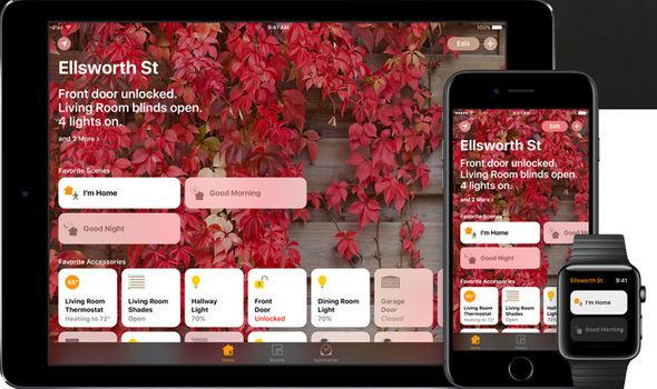 apple smart home app homekit siri