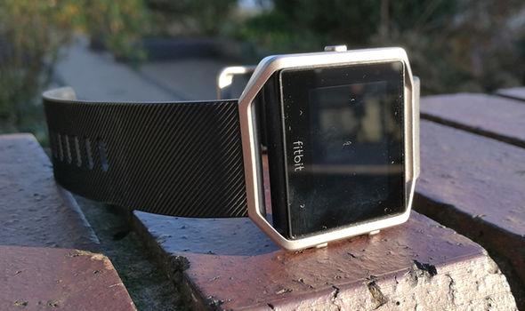 fitbit blaze smartwatch fitness strap