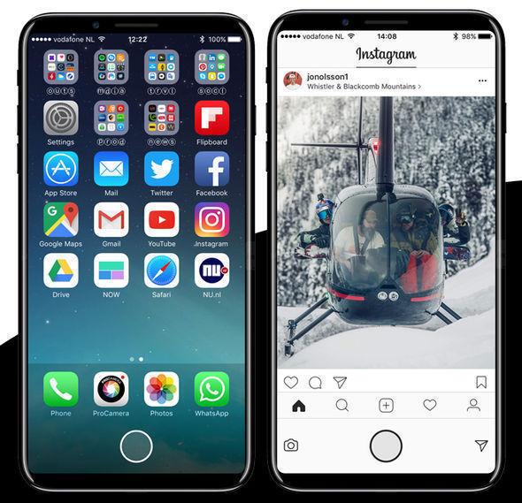 MacRumours' reader Deuxani has visualised the latest rumours around the iPhone 8