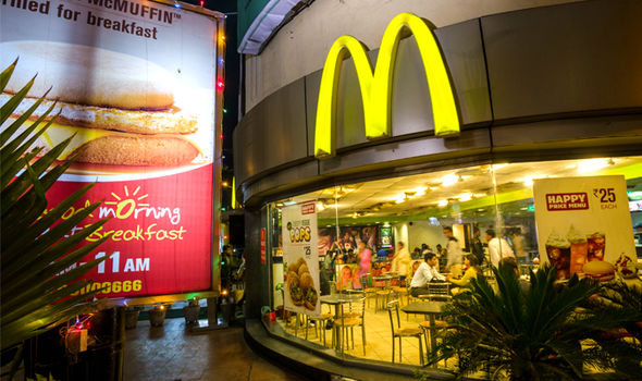 mcdonalds customers mobile deliver app leak online