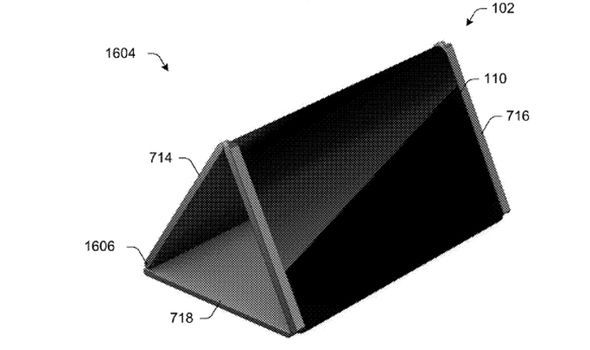 surface phone microsoft patent folding display