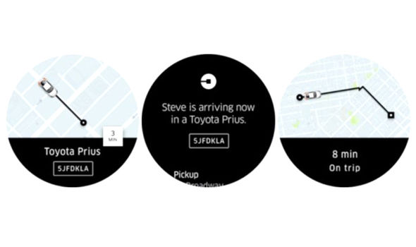 uber android wear 2.0 new app download