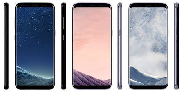samsung galaxy s8 colour options price leak