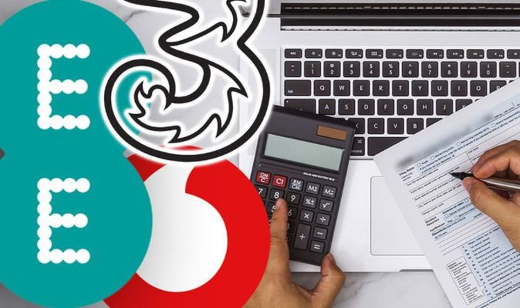 Warning for EE, Vodafone, O2 and Three customers – check your bill now