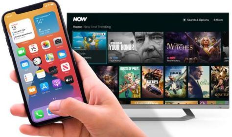 Sky's NOW streaming service has an exciting new update for Apple fans