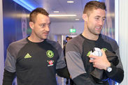 Gary Cahill John Terry Chelsea Stamford Bridge Closest Friend Help Gossip News