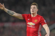 Manchester United Phil Jones Antonio Valencia Luke Shaw Premier League News