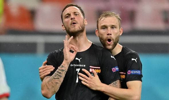 Euro 2020: Marko Arnautovic slapped with ban ahead of Austria's clash with  Netherlands | Football | Sport | Express.co.uk