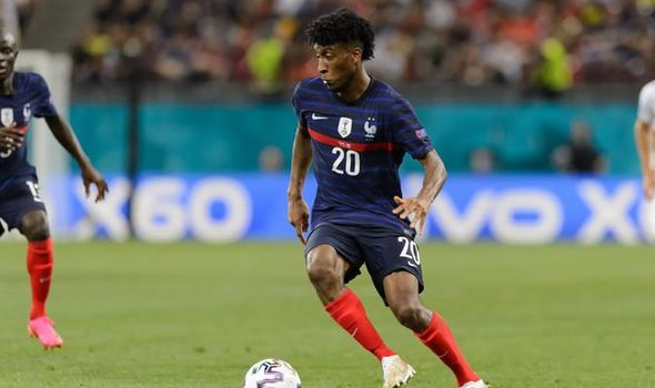 Kingsley Coman with France