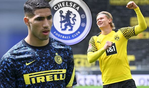 Chelsea's Achraf Hakimi transfer hitch teases problem that may block Erling Haaland move