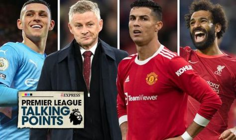 Premier League talking points: Ronaldo v Solskjaer, Liverpool's title, Foden coming of age