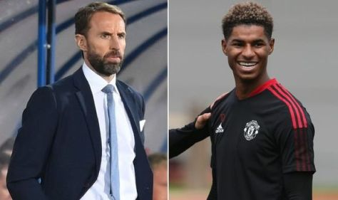 Gareth Southgate fires warning to England squad with message to Man Utd's Marcus Rashford
